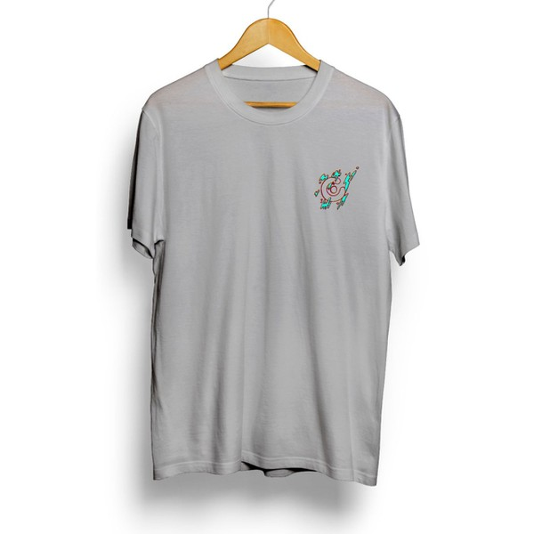 Camiseta Célula Splash - Cinza