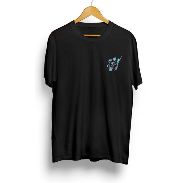 Camiseta Célula Splash - Preto
