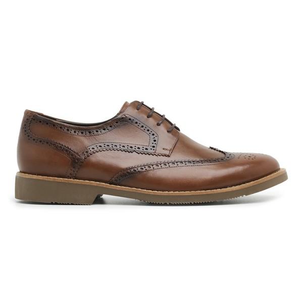 Sapato Brogue em Couro