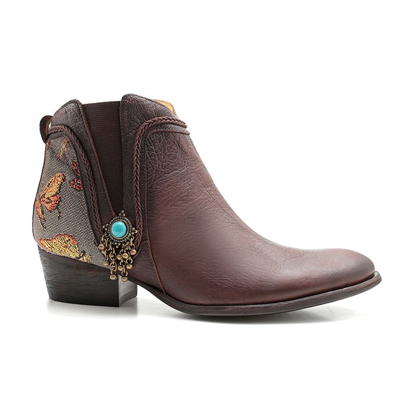 Bota Feminina Butterfly Brown