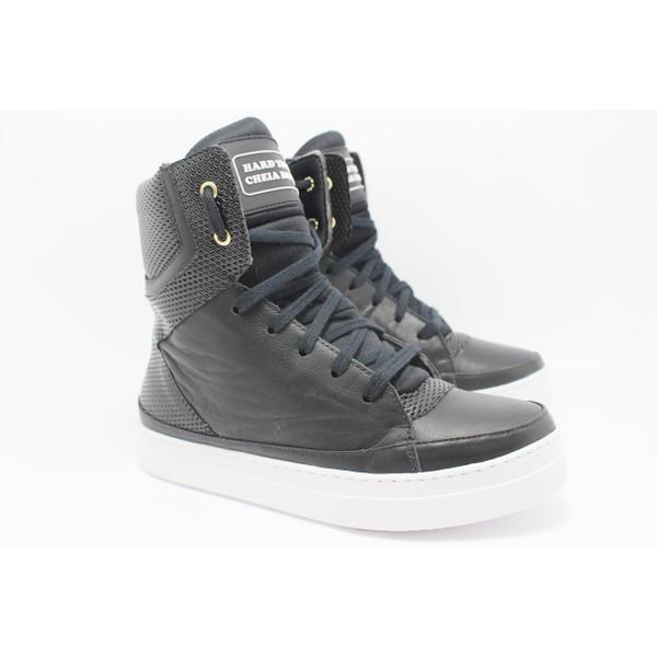 Tênis Sneaker Fitness Cheia de Marra Preto