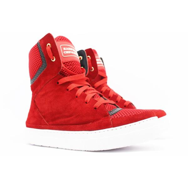 Tênis Sneaker Fitness Cheia de Marra. Vermelho
