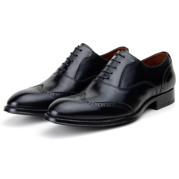 Sapato Social Masculino Oxford CNS Brogue Giani Preto