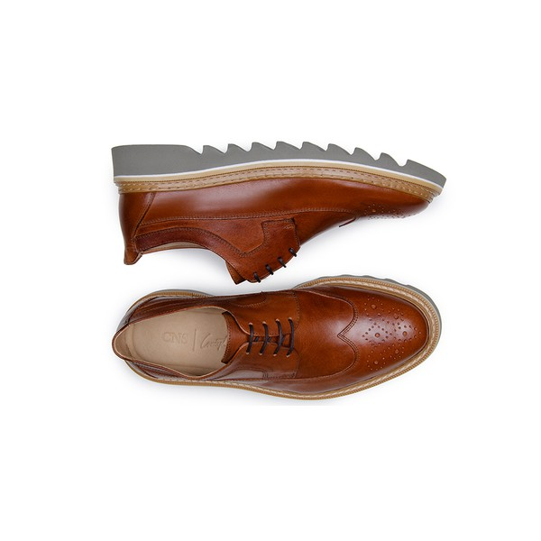 Sapato Casual Masculino Derby CNS 395004 Whisky