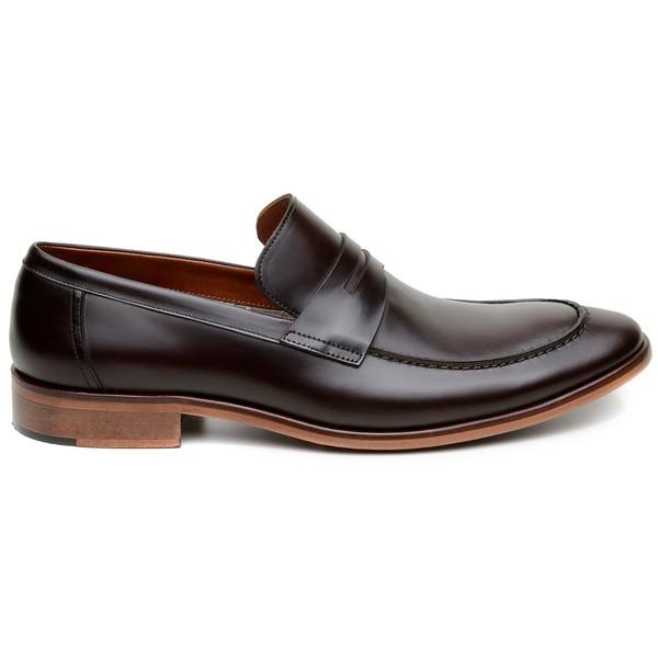 Sapato Casual Masculino Mocassim CNS Benelli 56 Café