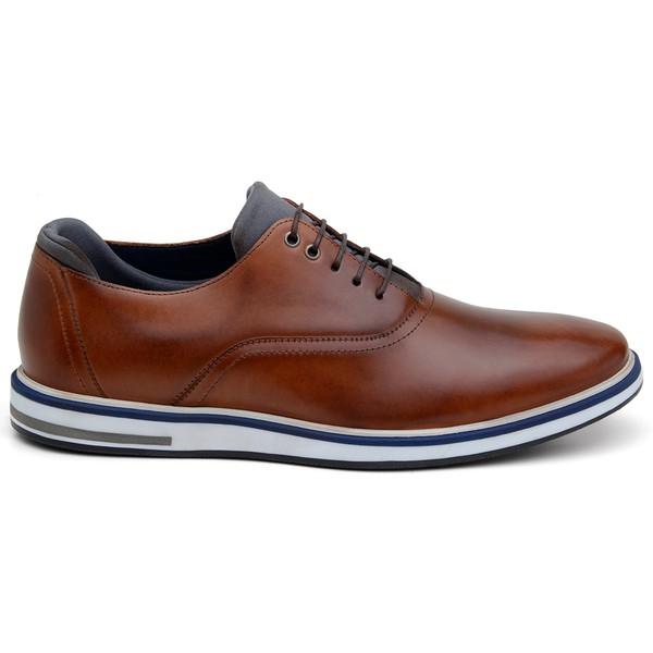 Sapato Casual Masculino Oxford CNS 176038 Conhaque