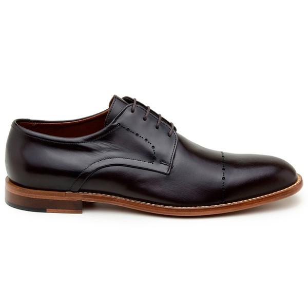 Sapato Casual Masculino Derby CNS Houston 10 Café