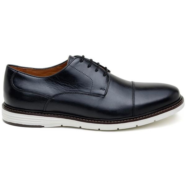 Sapato Casual Masculino Derby CNS STN 001 Preto