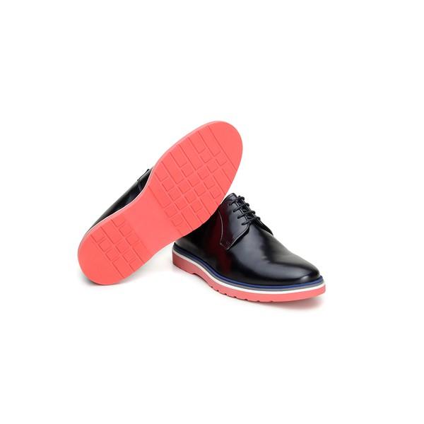 Sapato Casual Masculino Derby CNS Wish 03 Preto