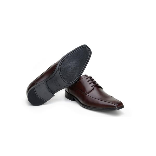Sapato Social Masculino Derby CNS 51001 Café