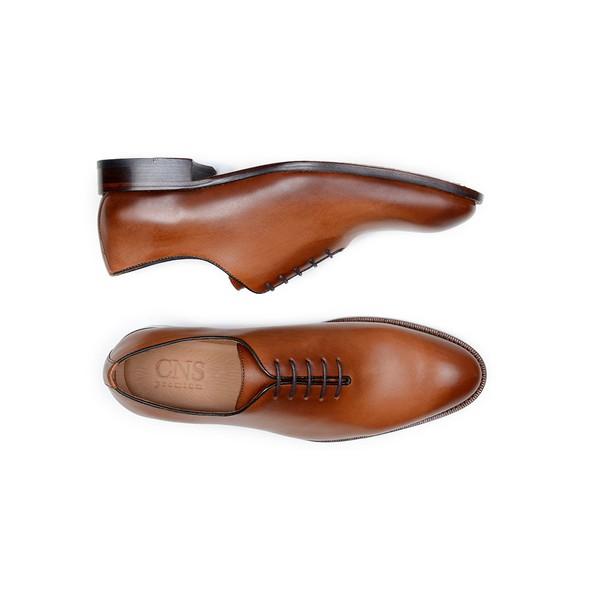 Sapato Social Masculino Wholecut CNS A676004 Pinhão