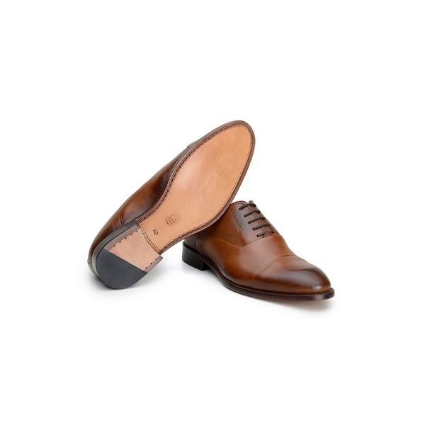 Sapato Social Masculino Oxford CNS A676001 Cacau