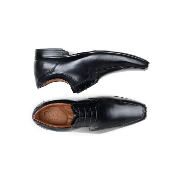 Sapato Social Masculino Derby CNS Air Plus 13 Preto