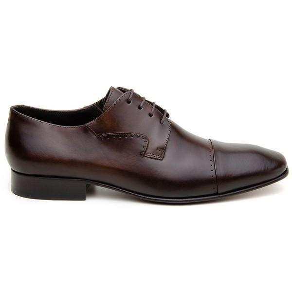 Sapato Social Masculino Derby CNS 327017 Moca