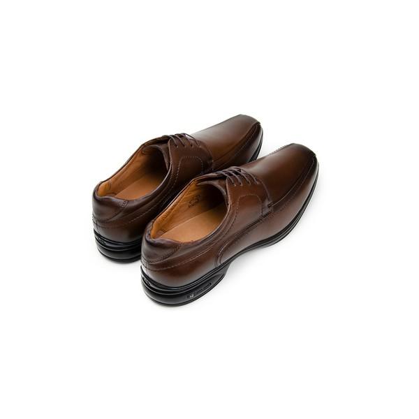 Sapato Social Masculino Derby CNS 71461 Dark Brown