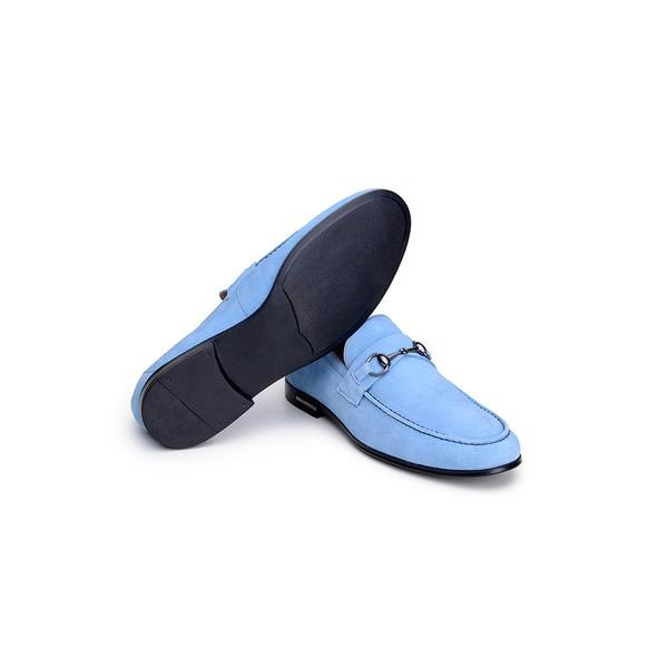 Sapato Casual Masculino Mocassim CNS 1160 Azul