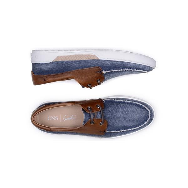 Sapato Casual Masculino Sider CNS 380003 Azul