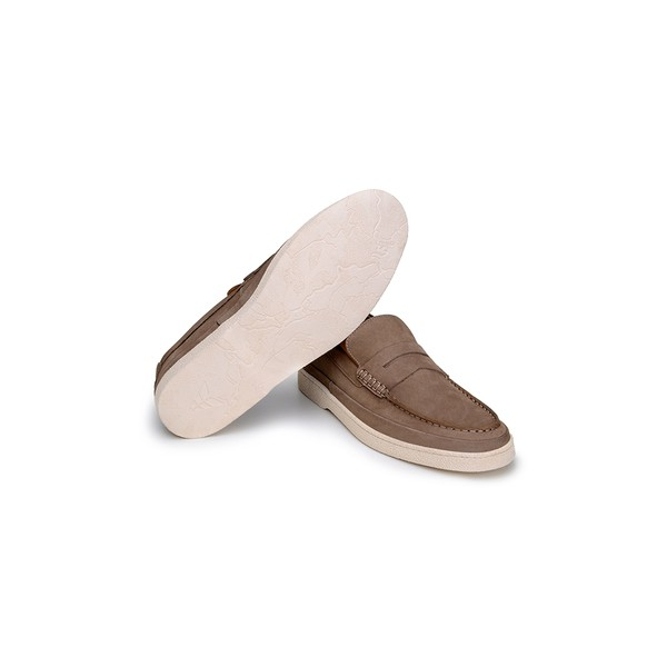 Sapato Casual Masculino Slip-on CNS Rimini 02 Areia