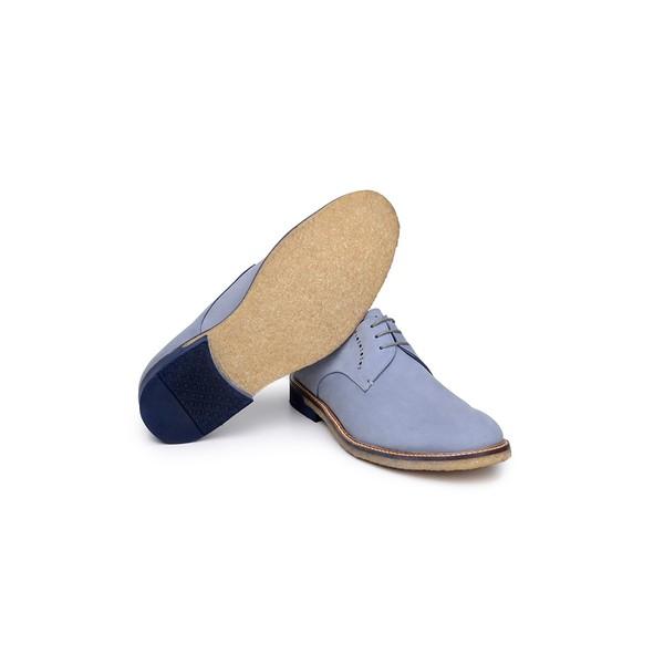 Sapato Casual Masculino Derby CNS Dino 01 Azul