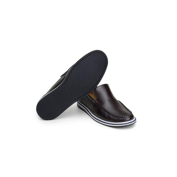 Sapato Casual Masculino Mocassim CNS 19051 Café