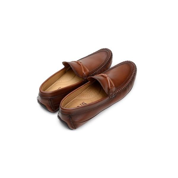 Sapato Casual Masculino Driver CNS 19135 Caramelo