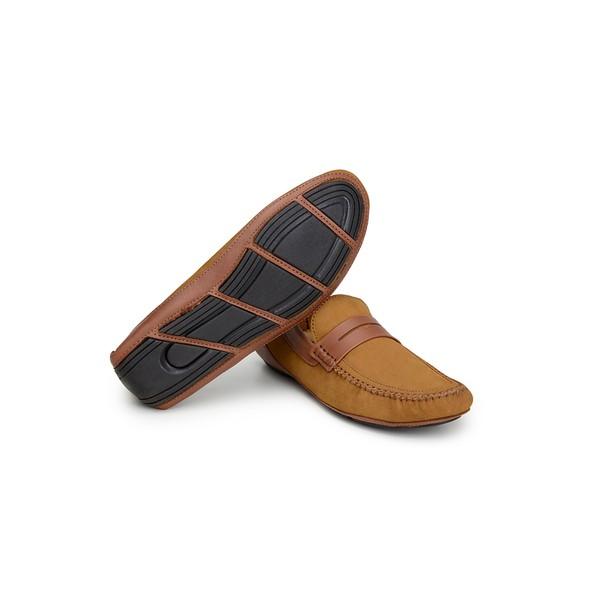 Sapato Casual Masculino Driver CNS 19134 Caramelo