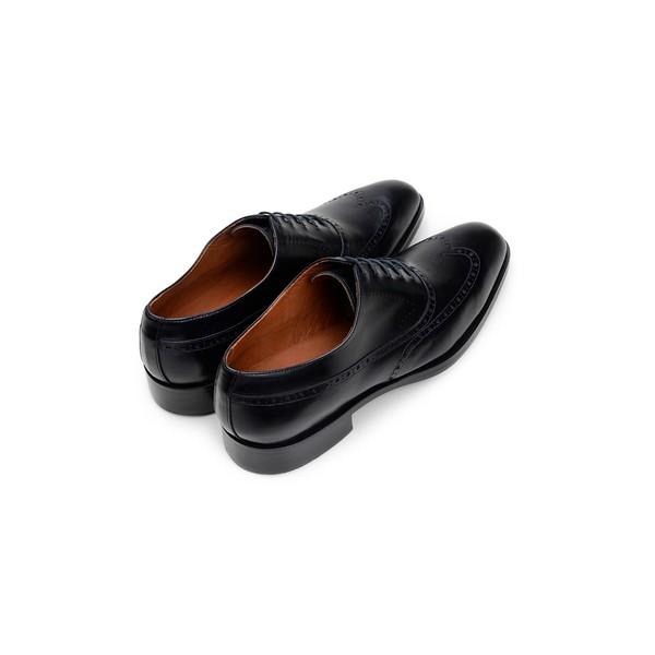 Sapato Social Masculino Oxford CNS Brogue Donald 30 Preto