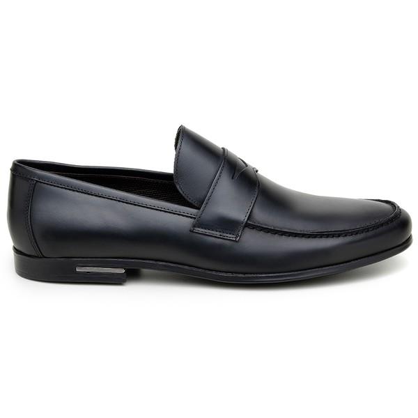 Sapato Casual Masculino Mocassim CNS 1115 Preto