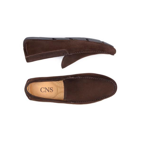 Sapato Casual Masculino Driver CNS 18190 Café