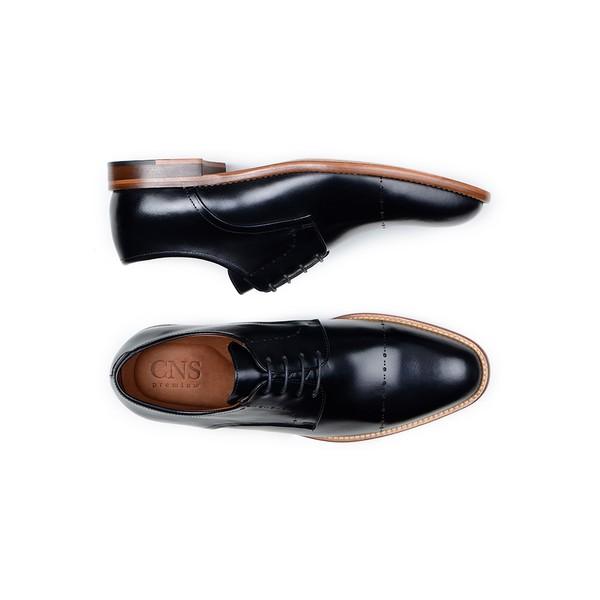Sapato Casual Masculino Derby CNS Houston 10 Preto