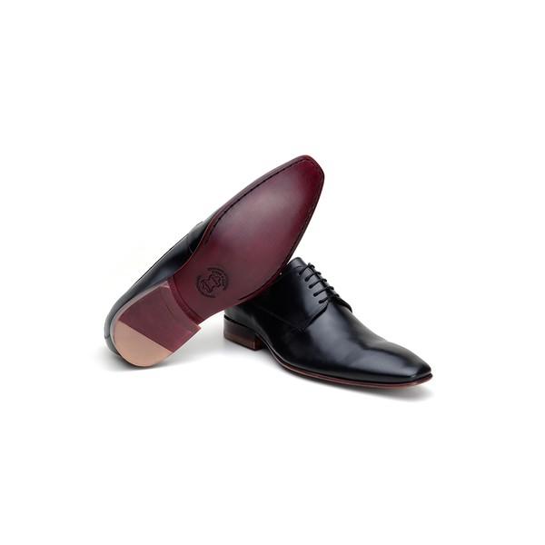 Sapato Social Masculino Derby CNS 109101 Preto