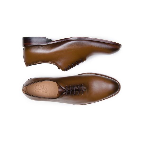 Sapato Social Masculino Wholecut CNS A676004 Cacau