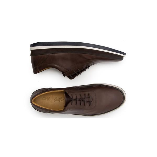 Sapato Casual Masculino Oxford CNS Padua 20 Mouro