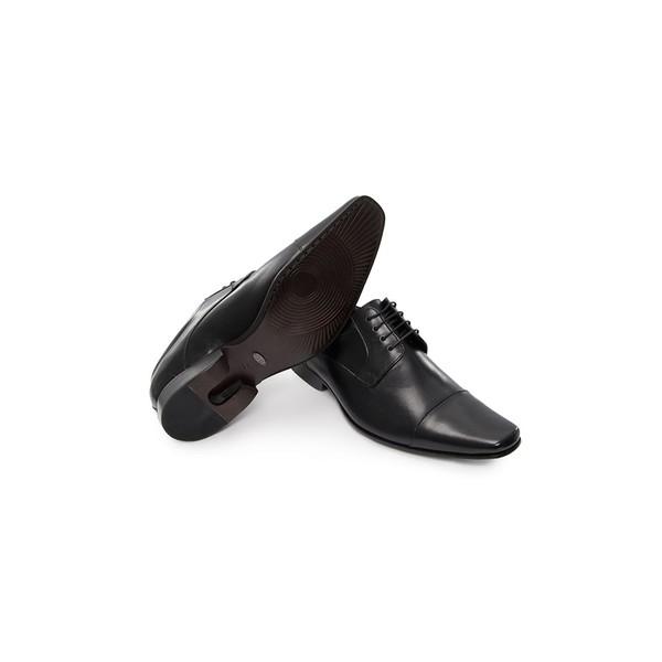 Sapato Social Masculino Derby CNS Cliver 04 Preto