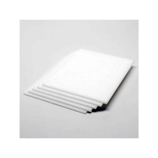 Acrílico Cast ( virgem ) Branco Leitoso 3mmx2,00x1,00
