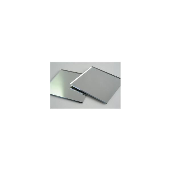 Acrílico Cast ( virgem ) espelhado prata 2mmx2,00x1,00