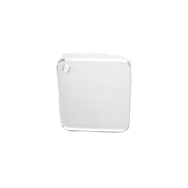 Acrílico Cast ( virgem ) Cristal 2mmx2,00x1,00