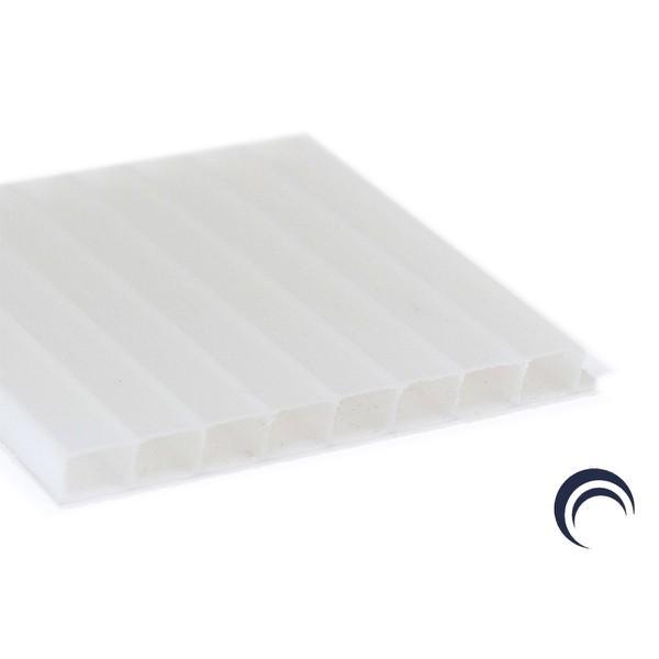 Chapa de Policarbonato Alveolar Branco 1,05x6,00 6 Milímetros