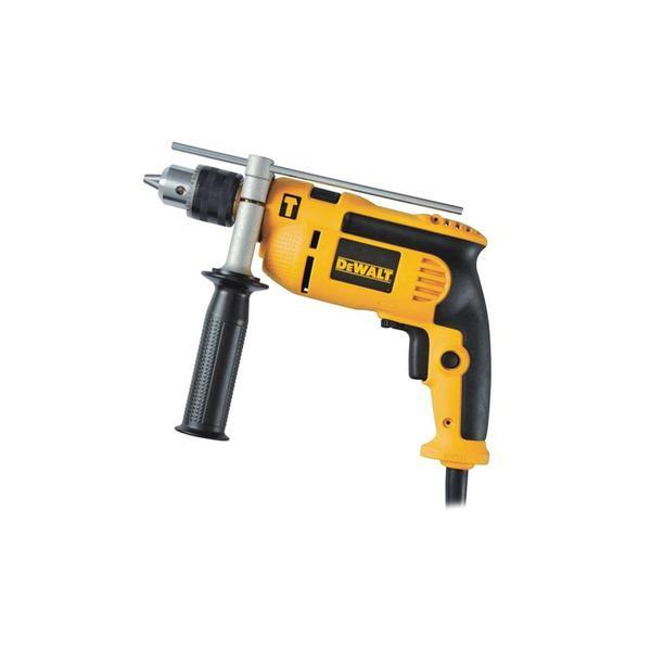 Furadeira Industrial com Impacto Dewalt Mandril 1/2 710 Wts DWD502