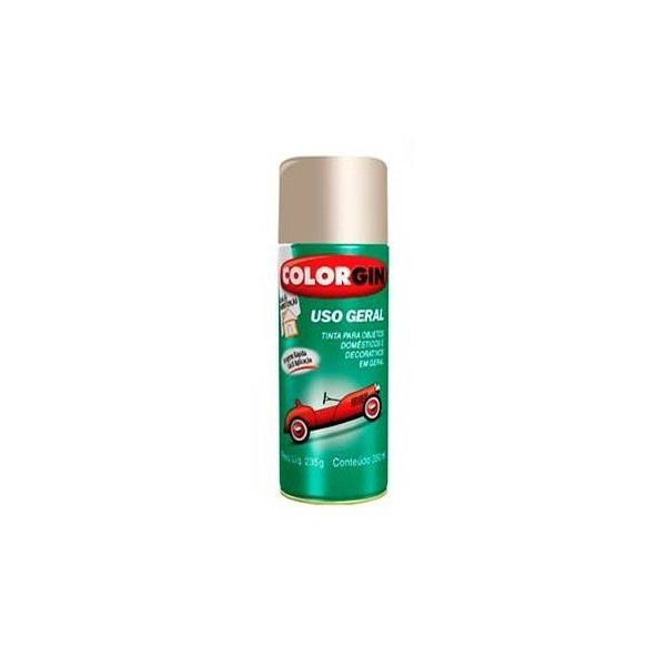 Tinta Spray Metálico (Escolha a Cor) 350ml - Colorgin