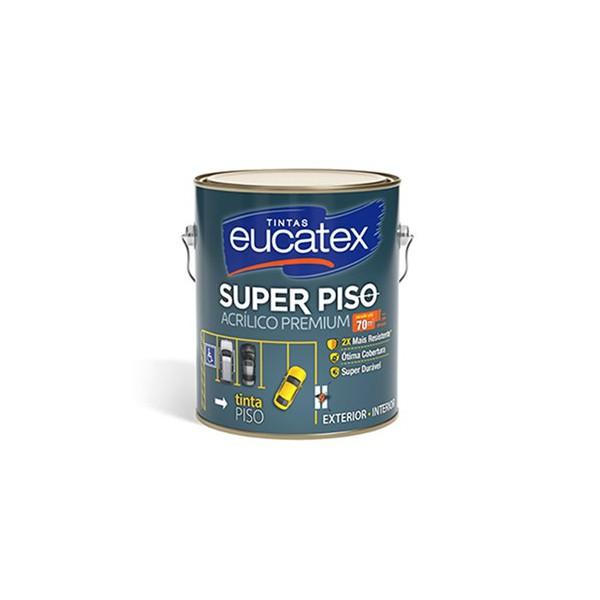 Tinta Piso Acrílica Fosco 3,6 Litros Eucatex (Escolha Cor)