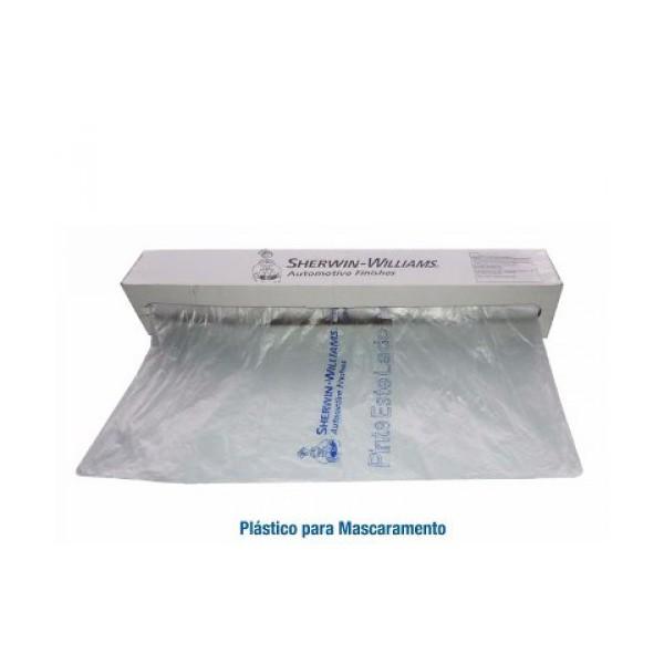 Filme Plástico Mascaramento Isolamento Automotivo 4m X 1m - Lazzuril