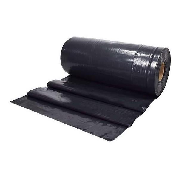 Lona Plástica Preta 4m X 1m fina ( METRO)