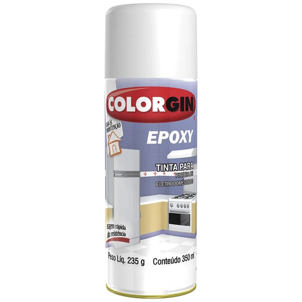 Spray Epoxi Branco 400ml - Colorgin
