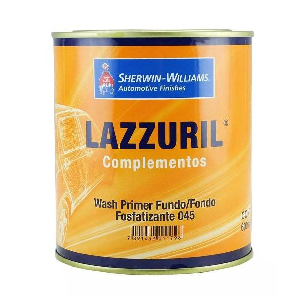 Fundo Fosfatizante Wash Primer 600ML - Sherwin Williams Lazzuril