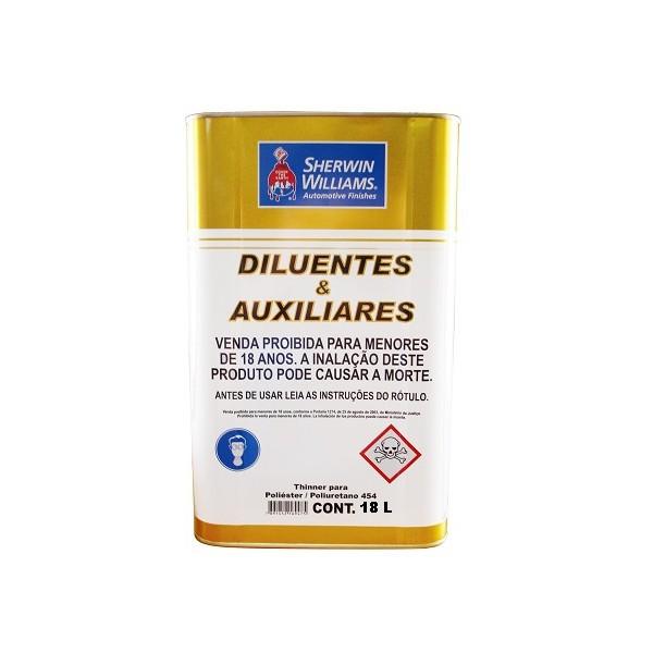 Thinner para Poliéster/Pu 454 18 Litros - Lazzuril