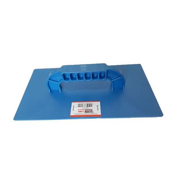 Desempenadeira Corrugada 18x30cm Azul - Lixa Flex