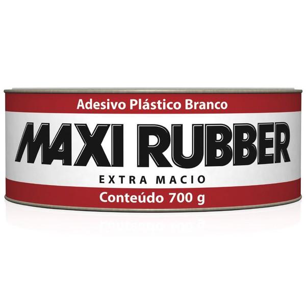 Adesivo Plastico 1mg009 Branco 700G Kit c/Catalisador Maxi Rubber