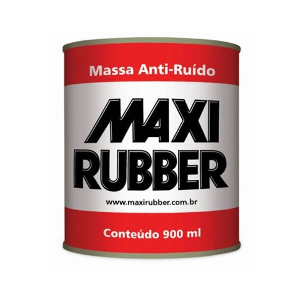 Massa Anti Ruído 900ml - Maxi Rubber