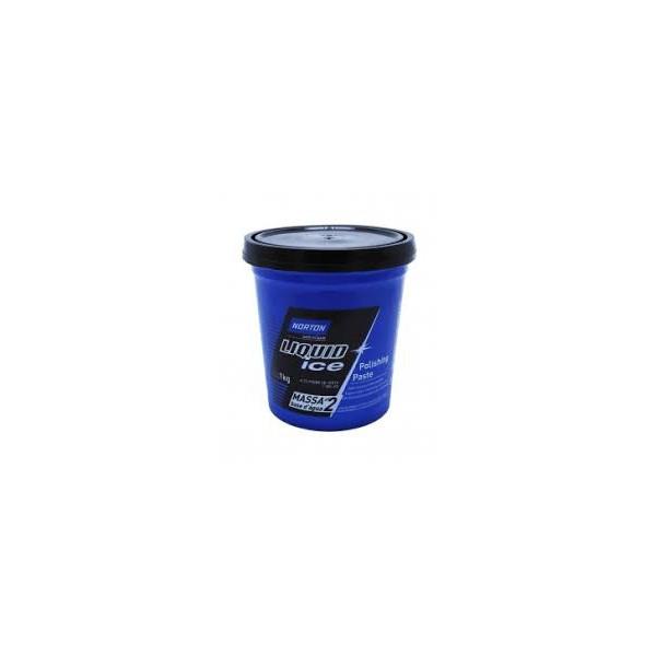 Massa de Polir N2 Base D' Agua 1kg - Liquid Ice Norton
